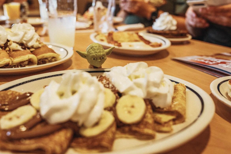 Frukost på IHOP i USA