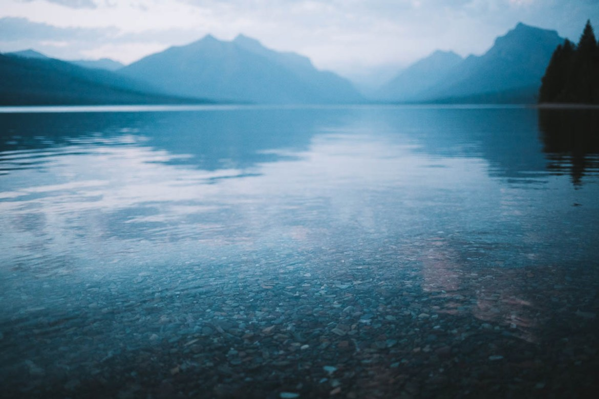 Lake McDonald - Glacier National Park - Montana