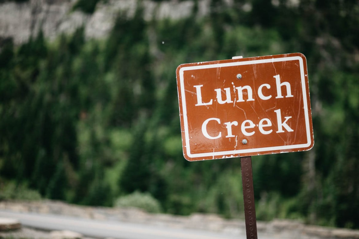 Lunch Creek Hill Glacier National Park Montana