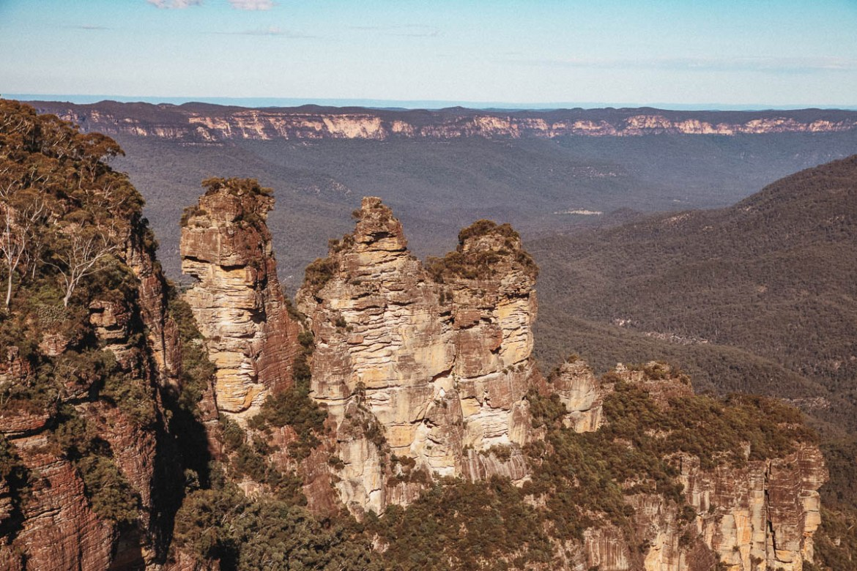 UNESCO Världsarv Blue Mountains Australien