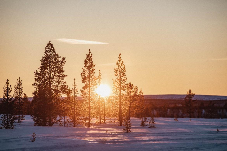 Vårvinter i Lappland | Sverige