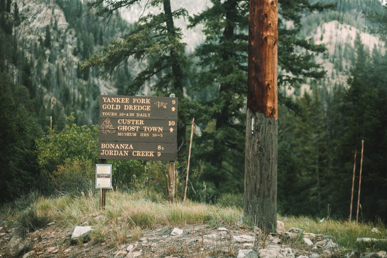 Custer Ghost Town, Idaho | Spökstaden Custer