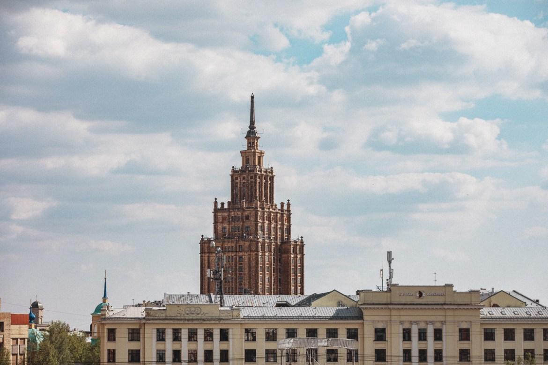 Mitt stadsalfabet (World Edition) | Riga, Lettland