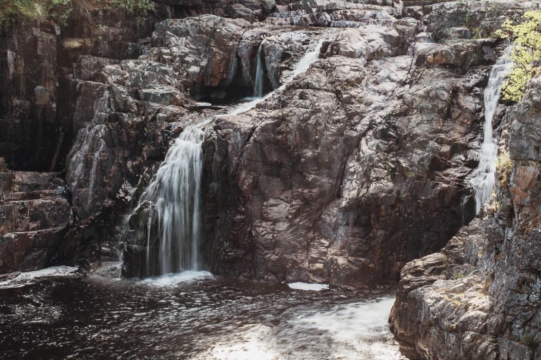 Mittåfallet Hede Vemdalen Härjedalen Vattenfall i Sverige