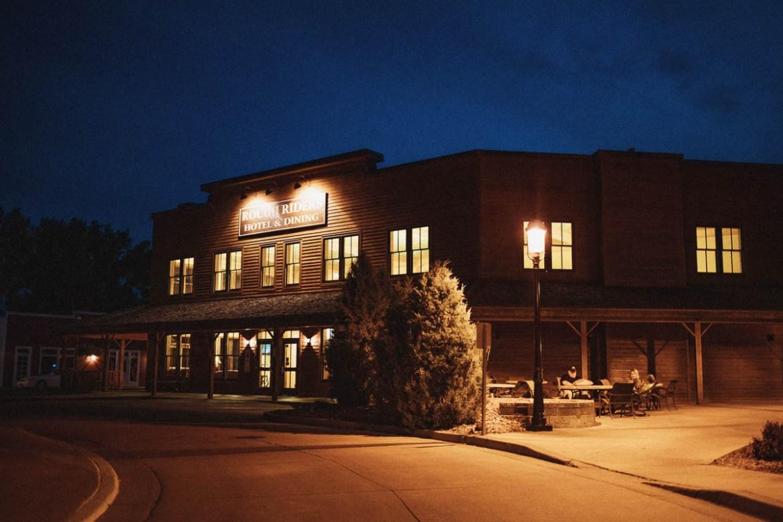 Rough Riders Hotel i cowboystaden Medora i North Dakota