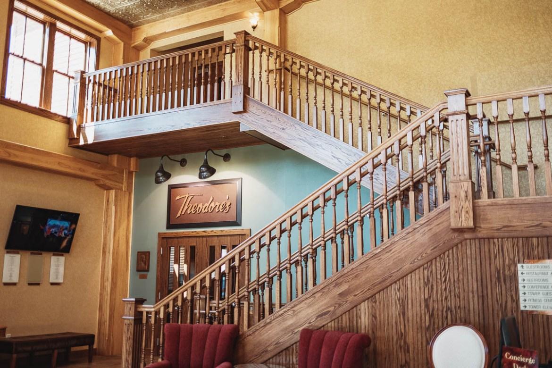Rough Riders Hotel i Medora, North Dakota
