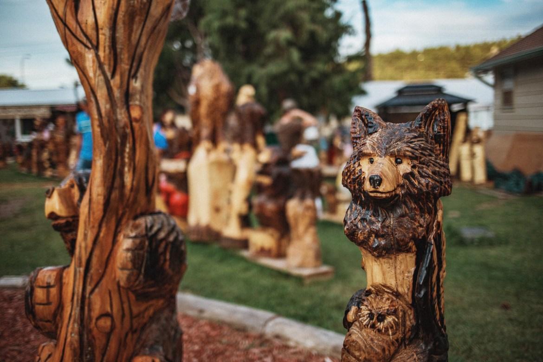 Jordan Dahl's Chainsaw Art - Hill City, South Dakota