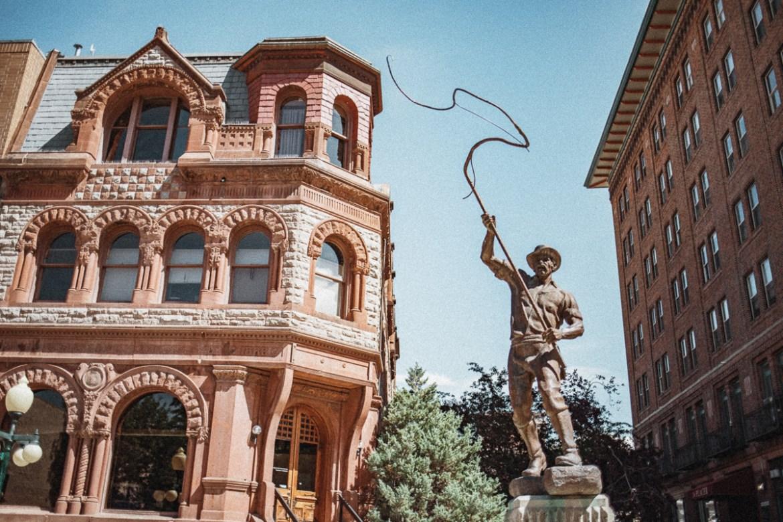 Downtown Helena // Last Chance Gulch // Montana