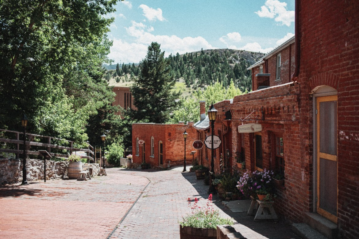 Reeder's Alley - Last Chance Gulch - Downtown Helena - Montana