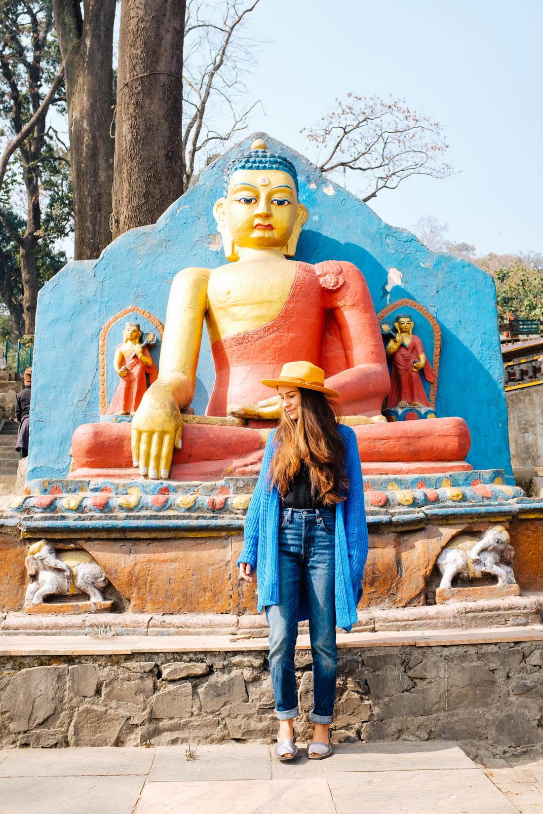 Swayambhunath! Monkey Temple, Kathmandu