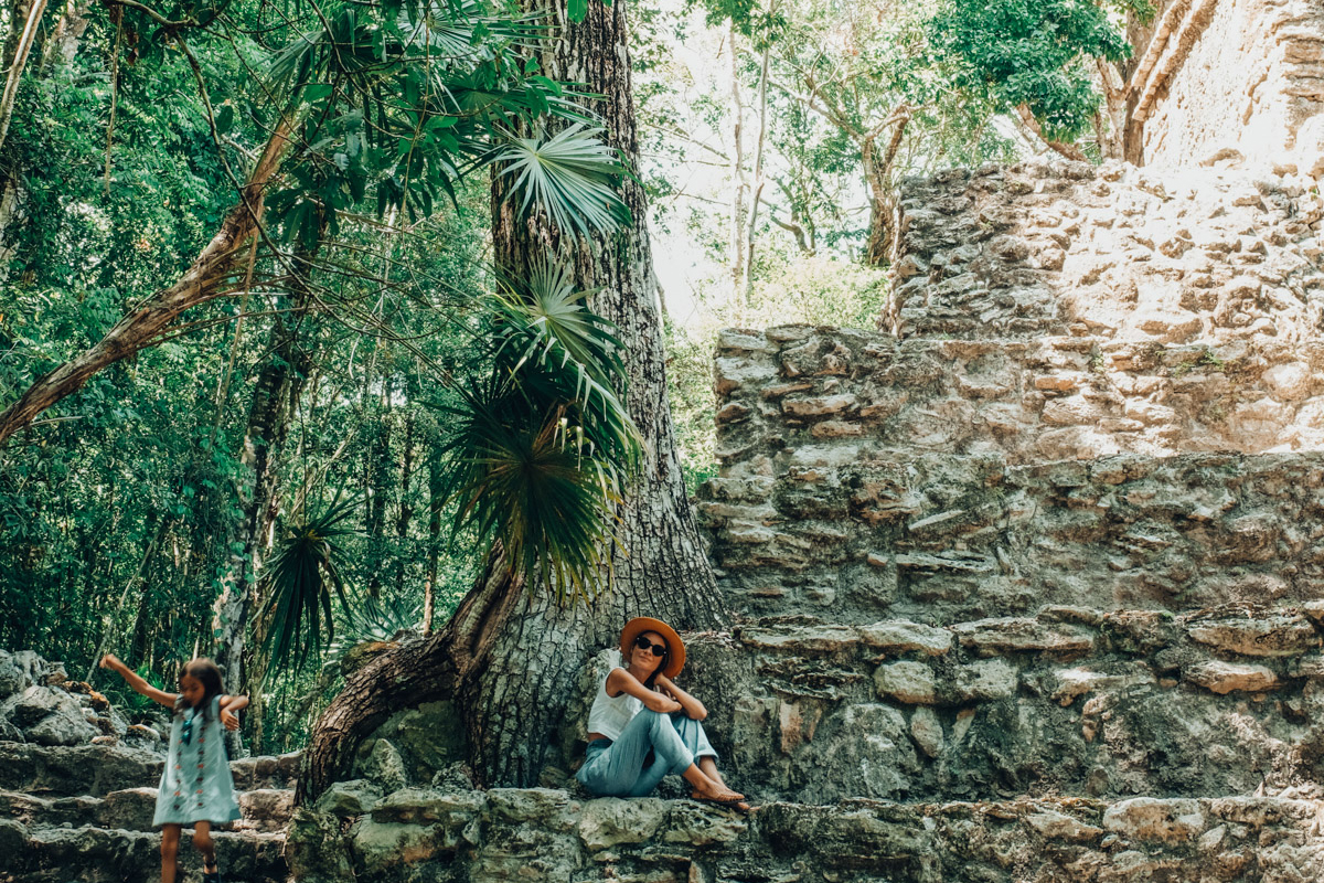 A Day To Adventure – Driving Out To Muyil Mayan Ruins Mexico