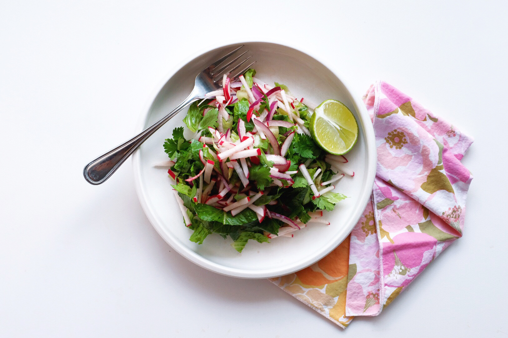 Marlowe's Favorite Radish Salad Recipe (Vegan + Oil Free)
