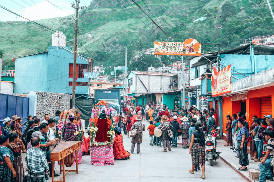 A Surprise Festival In Santa Catarina Palopo