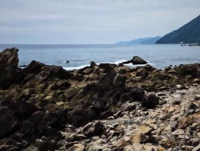 辺地修行を偲ばせる海辺の難所