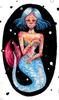 -PRINT mermaid