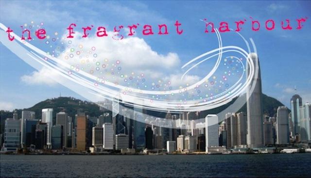 Porto perfumado de Hong Kong
