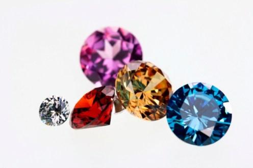Os diamantes são coloridos