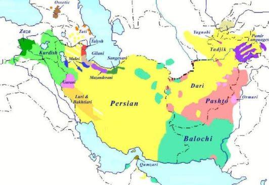 Terra da língua persa