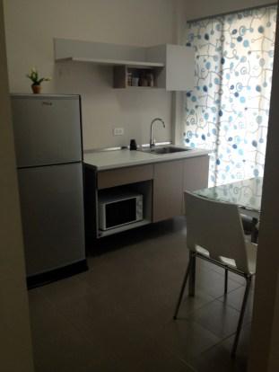 Mein Apartment in Bangkok - die Küche