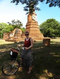 Los geht die Erkundungstour des Historical Parks - natürlich mit dem Fahrrad