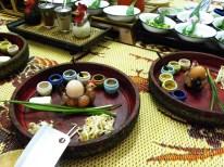 Zutaten um ein leckeres Pad Thai vorzubereiten