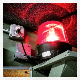 """That red light means, """"Don't step into the range or you will be shot in the back."""""""