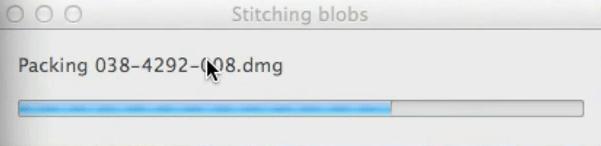 Stitching Blobs