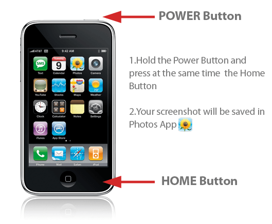 iPhone Screenshot Tutorial
