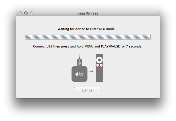 Enter DFU Mode Apple TV Jailbreak