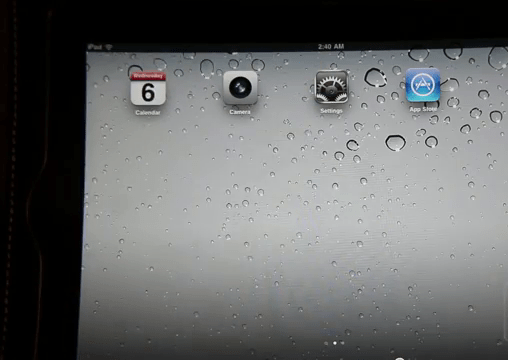 New iPad 2 Home Screen
