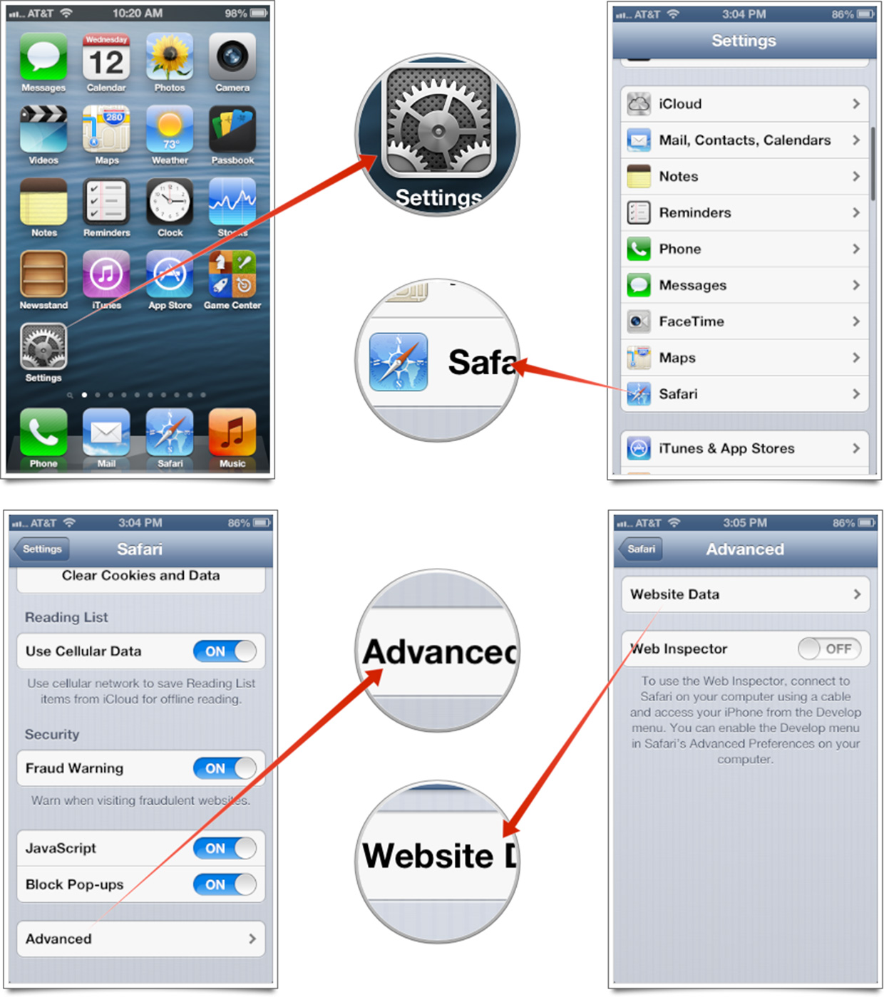 The Visual Guide To Clear All Website Data On Safari How To Clear Browsing  History On