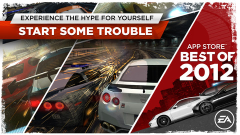 Need for Speed Most Wanted:Best Racing Games Apps for iPhone