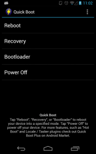Boot into Recovery /Bootloader Mode using Quick Boot