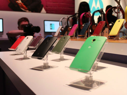Moto X in differect Colors