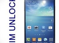 Sim Unlock Galaxy S4