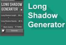 Photoshop Plugin - Long Shadow Generator