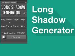 Photoshop Plugin - Long Shadow Generator