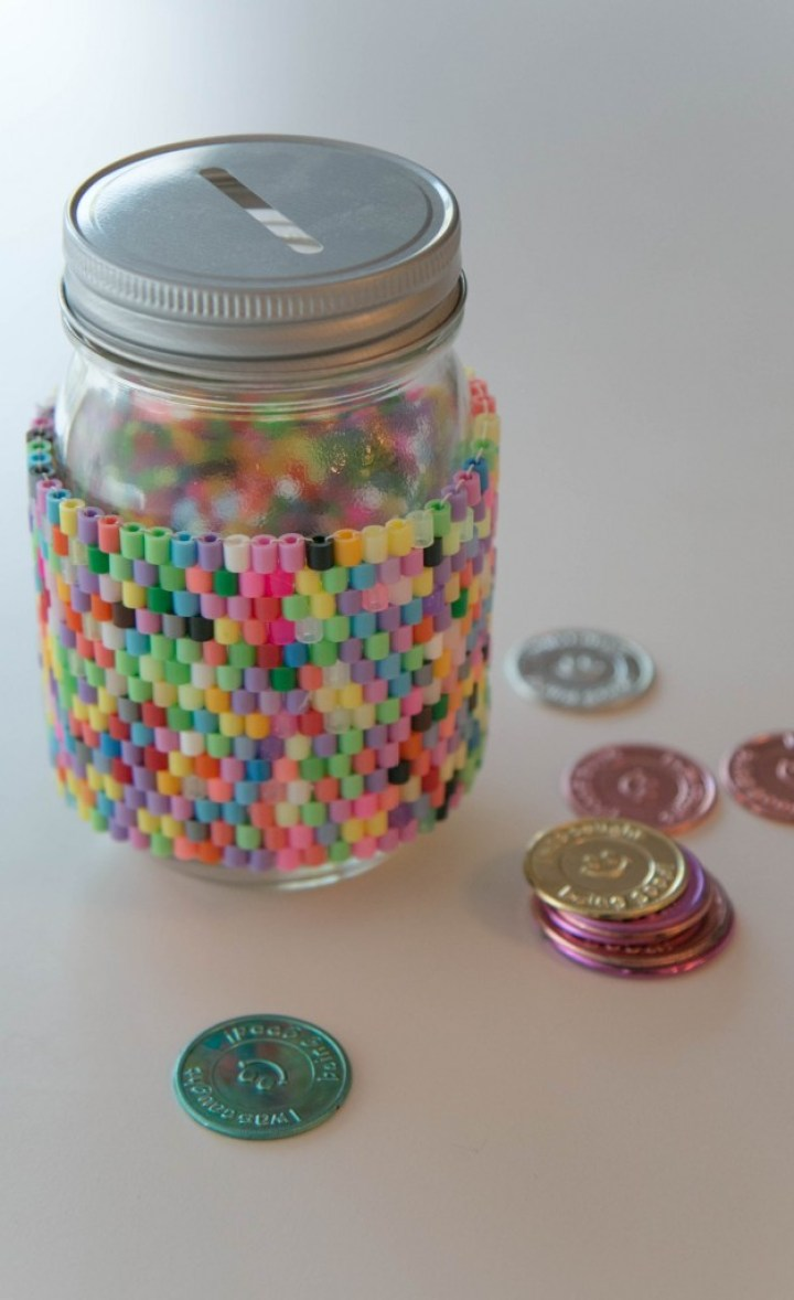 DIY Hama Beads Perler - Weaving