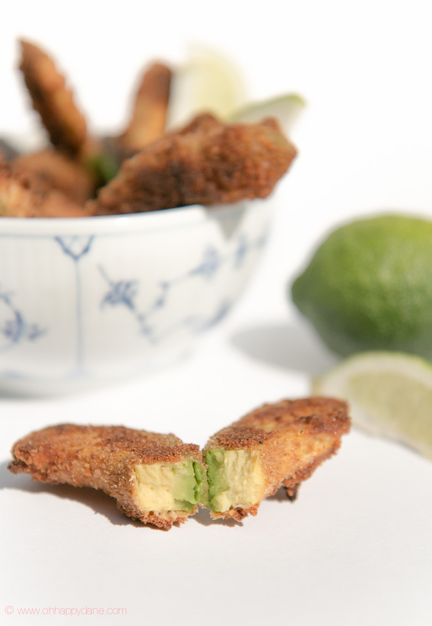 Baked Avocado Fries with Chili and Garlic Aioli