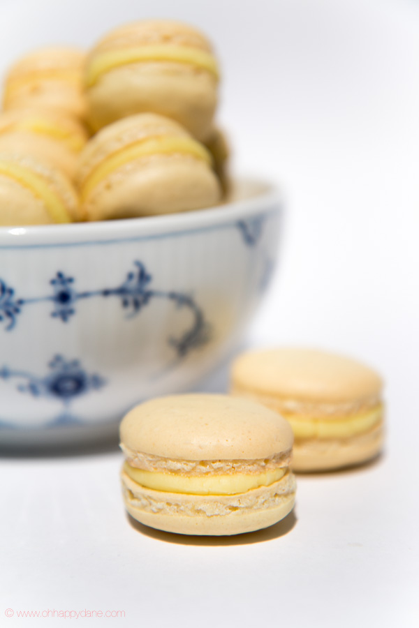 French Macarons with Lemon