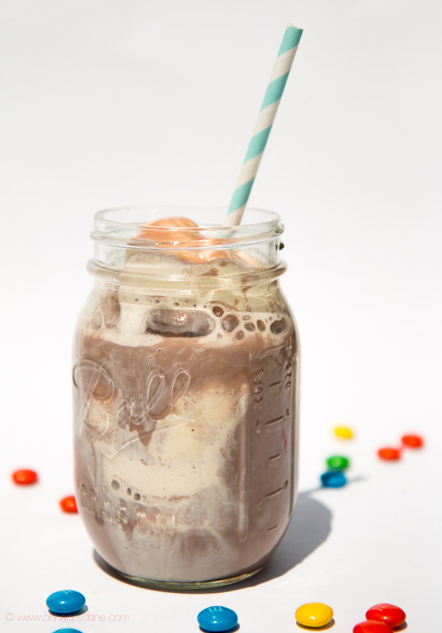 Vanilla Ice and Chocolate Drink