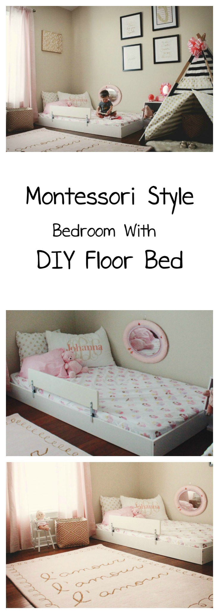 Johanna S Montessori Style Big Girl Bedroom Oh Happy Play