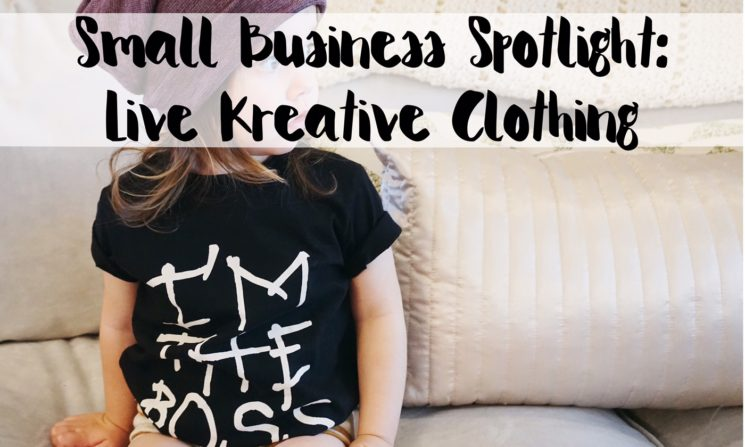 Small Business Spotlight: Live Kreative Clothing