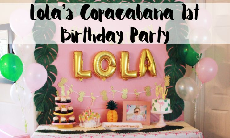 first birthday, Copacabana, her name was lola, lola, havana nights, tropical party, flamingo party, Copacabana party, fun to be one, first birthday, fruttie tuttie, birthday, party