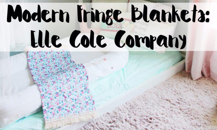 Modern Fringe Blankets: Elle Cole Company