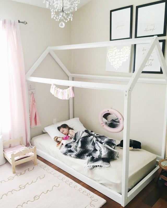 Montessori Floor Toddler bed | Toddler Floor Bed