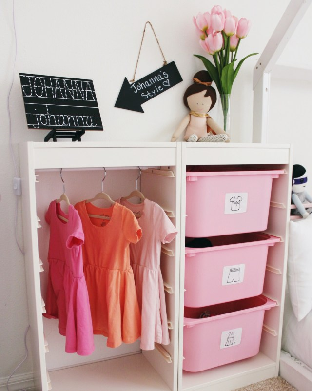 DIY Wardrobe Station | Childs Room | Oh Happy Play