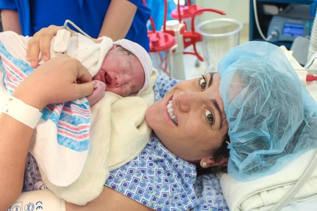 twin birth
