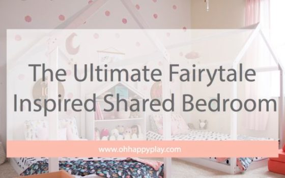 The Ultimate Fairytale Inspired Shared Bedroom