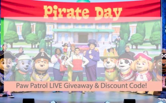 Paw Patrol Live Giveaway AND Discount Code!